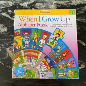 PUZZLE✨When I Grow Up✨Professions Circle infantino